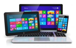 notebook e celular